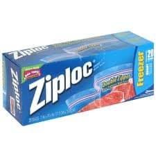 ziploc baggies