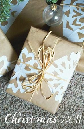 paper snowflake present