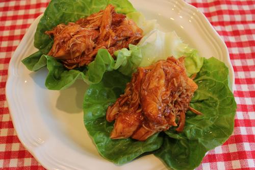 bbq chicken lettuce wraps 3