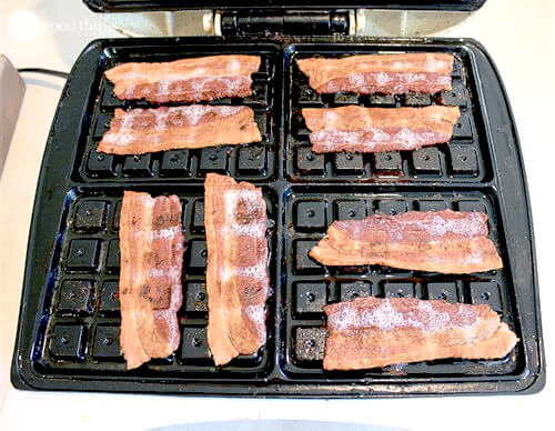 Bacon in the Waffle maker