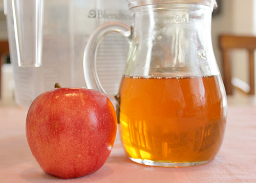 honey apple mask