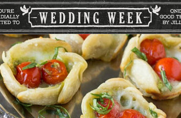 wedding pesto tarts