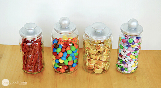 Repurpose Glass Jars Into Multi Purpose Storage Containers