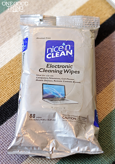 Cleaning Your Electronics