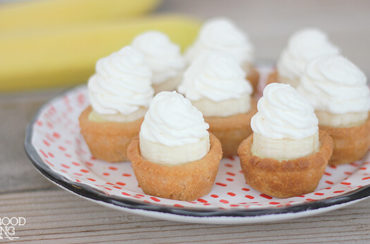 Banana Cream Pie Bites