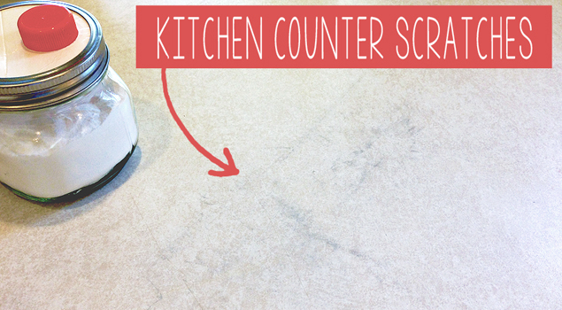 counter scratches