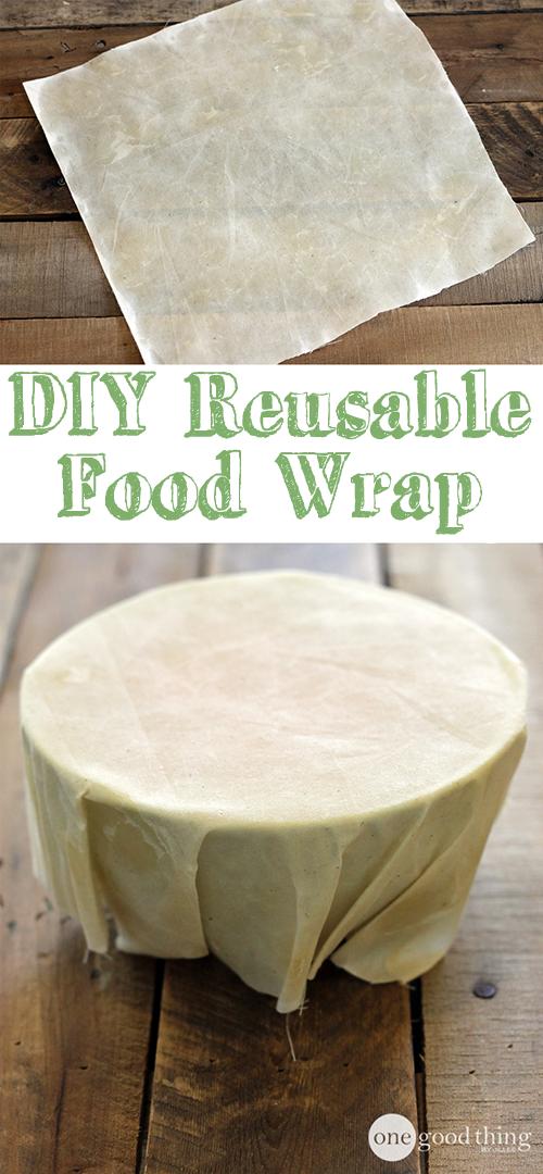 DIY food wrap