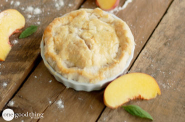 Mini Peach Pies