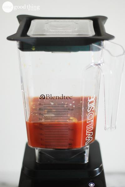 Blender BBQ Sauce