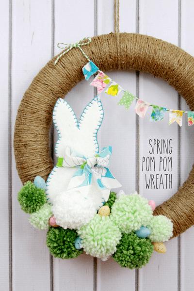 Spring-Pom-Pom-Wreath-DIY