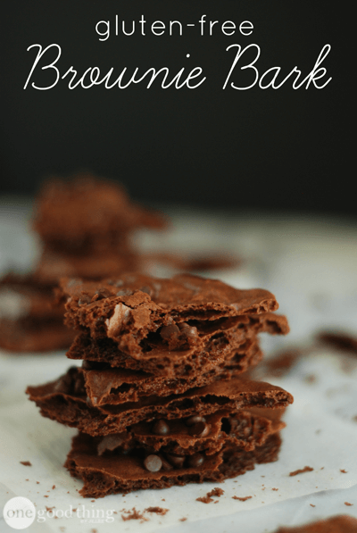 Gluten-Free Brownie Bark