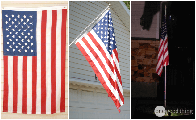 """How to """"Properly"""" Display the American Flag"""