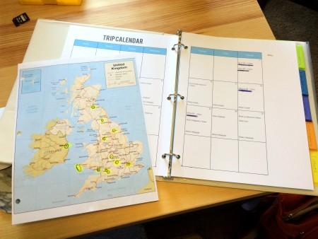 Planning a Trip