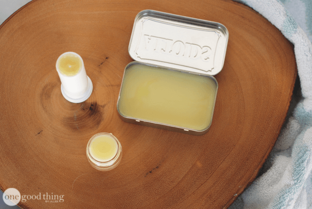Easy Microwave Lip Balm