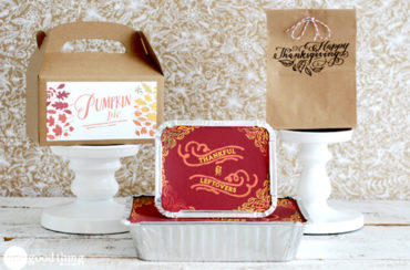 DIY Thanksgiving Leftover Containers