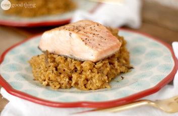 Salmon Rice Pilaf