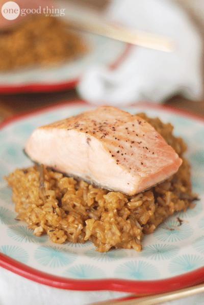 Mushroom Rice Pilaf for a Better Mood