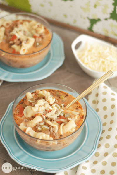 Lasagna Soup, and 6 More of our Favorite Slow Cooker Soups