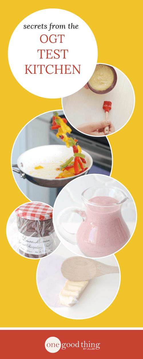 Test Kitchen Secrets