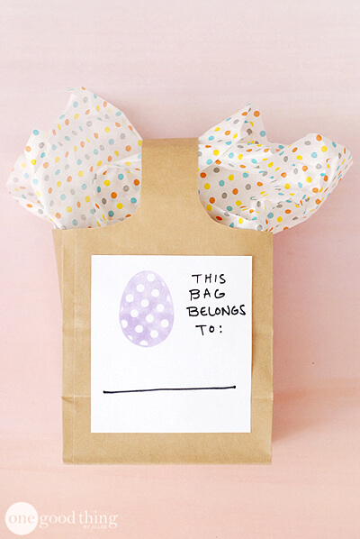 Easter stamp craft
