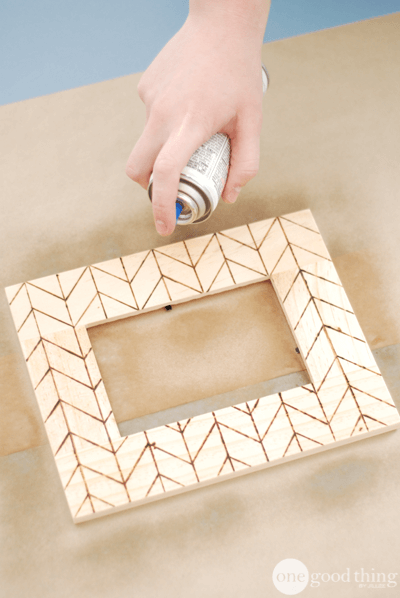Wood-Burned Frames and Other Crafts