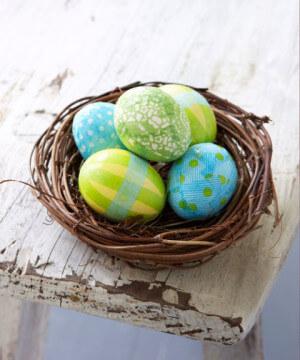 No-Dye Easter Eggs