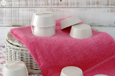 foaming clay soap
