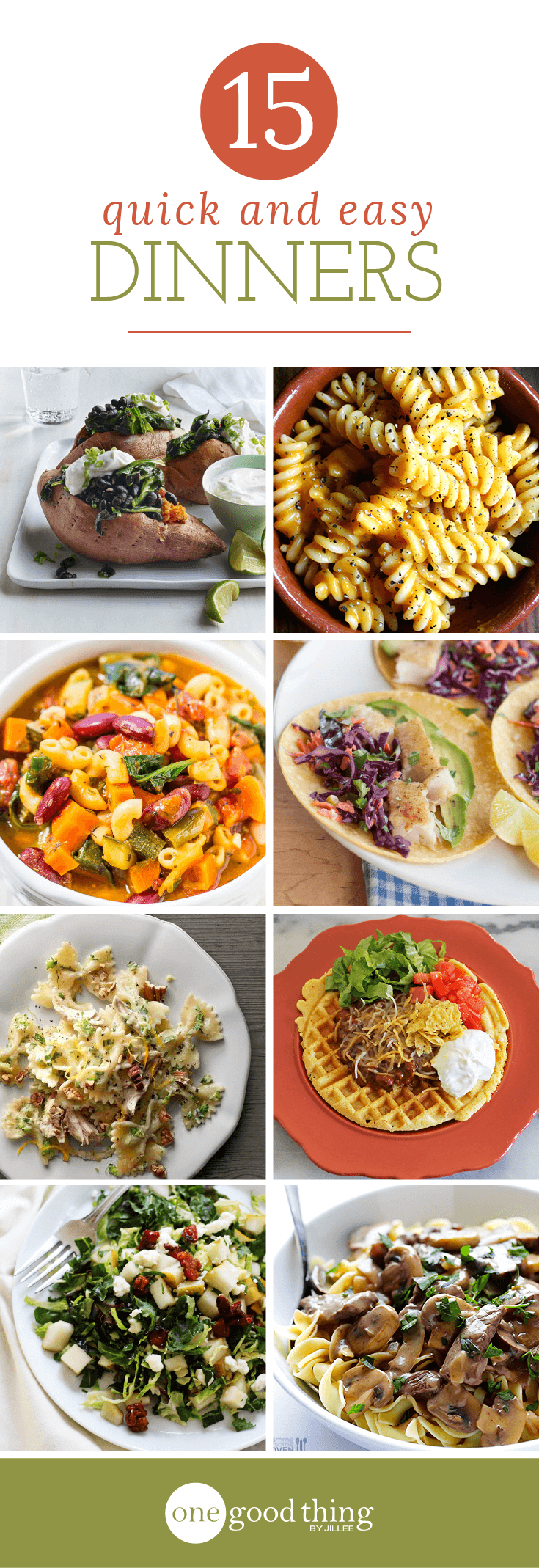 Quick Dinner Ideas Round-Up