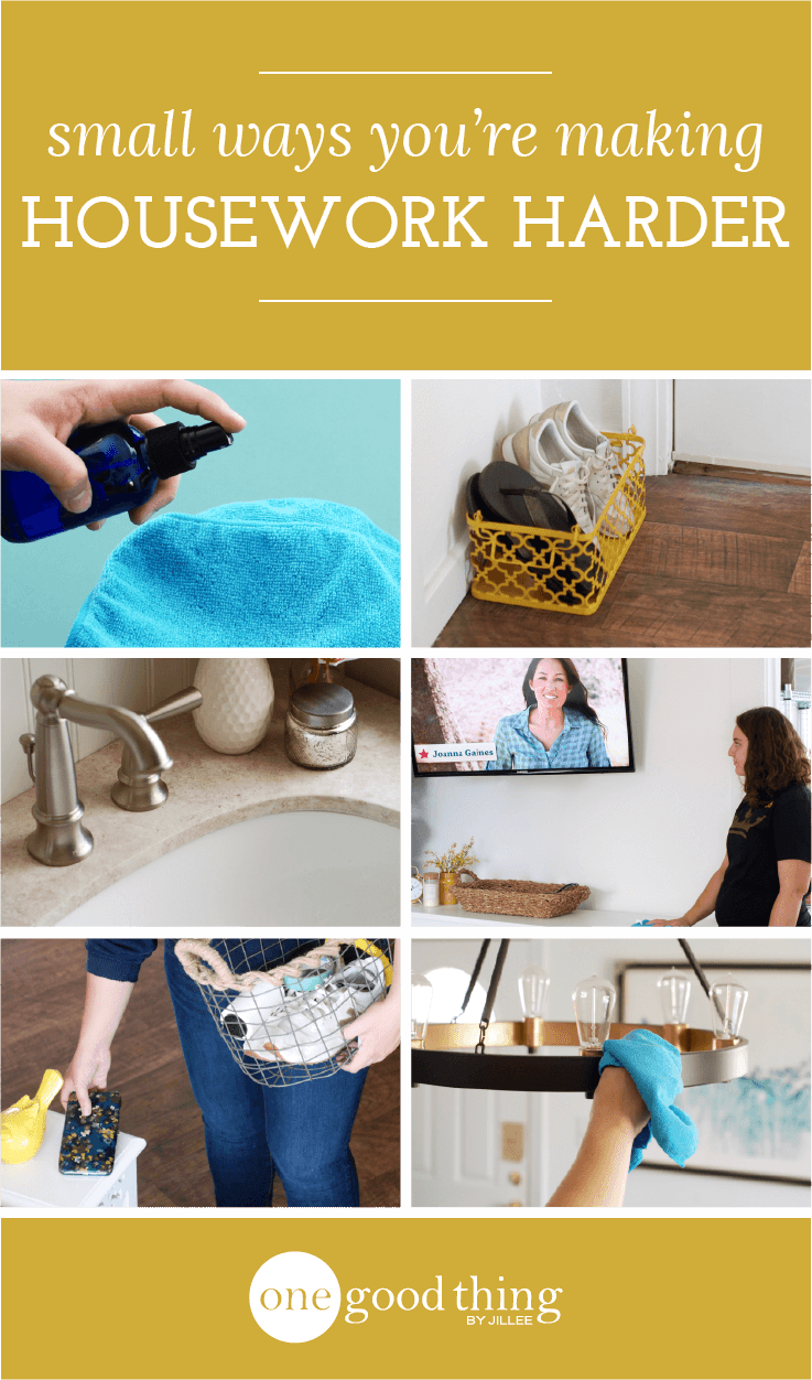 10 Ways You Make Cleaning Harder Than It Has To Be
