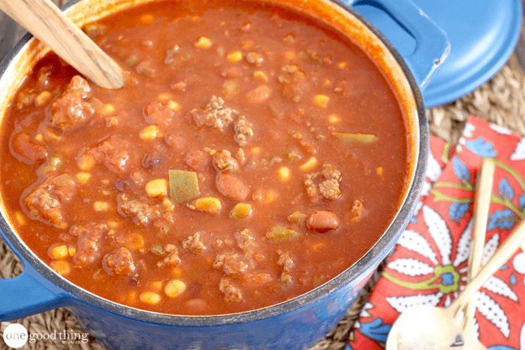 Jillee's Chili Soup