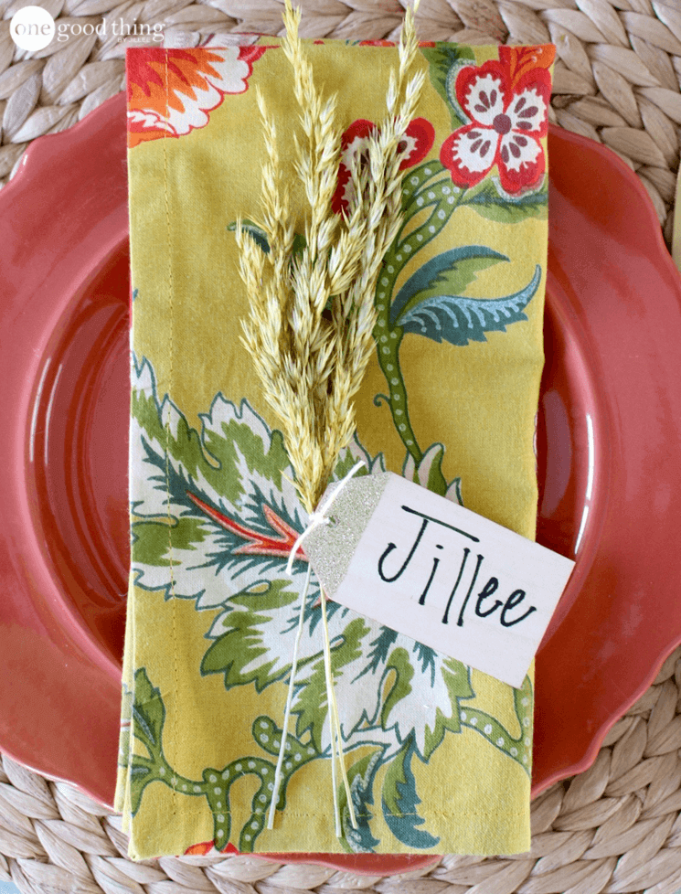 Thanksgiving Place Card Ideas