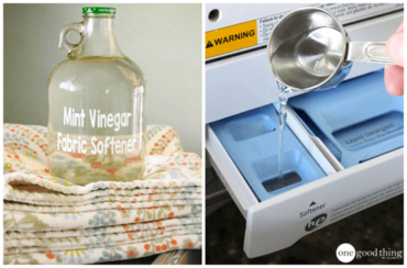 Scented Vinegar Laundry Rinse