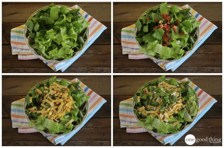 Cafe Rio Pork Salad