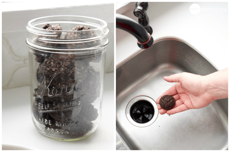 Coffee Grounds Garbage Disposal Cleaner Tablets