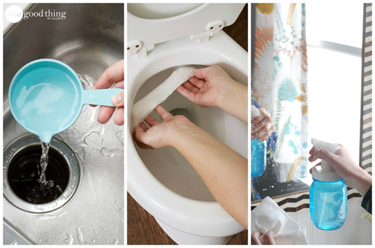 8 Of The Best Ways To Use Vinegar Clean Your Bathroom