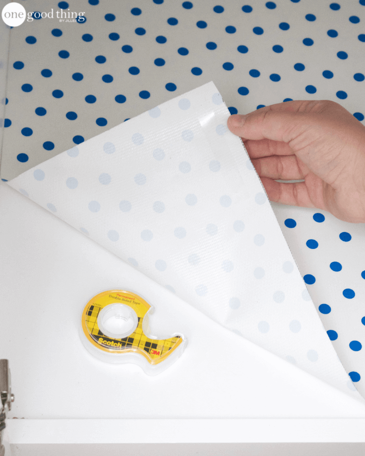 DIY Shelf and Drawer Liners
