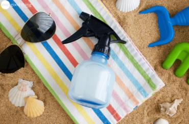 Sunburn Cooling Spray