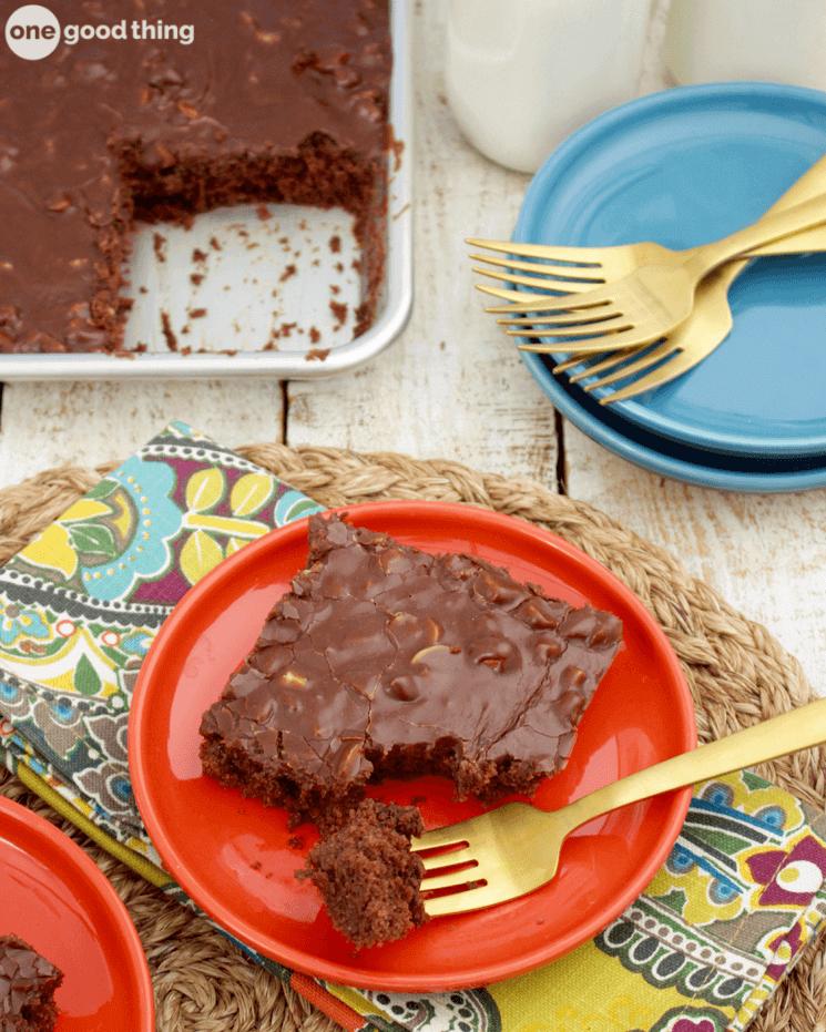 Mom's Nacagdoches Chocolate Cake