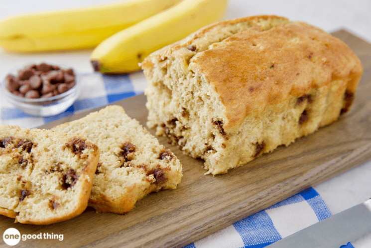 3-Ingredient Banana Bread