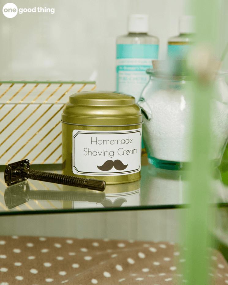 Homemade Shaving Cream