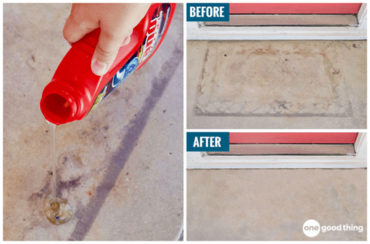 How To Clean Concrete Stains