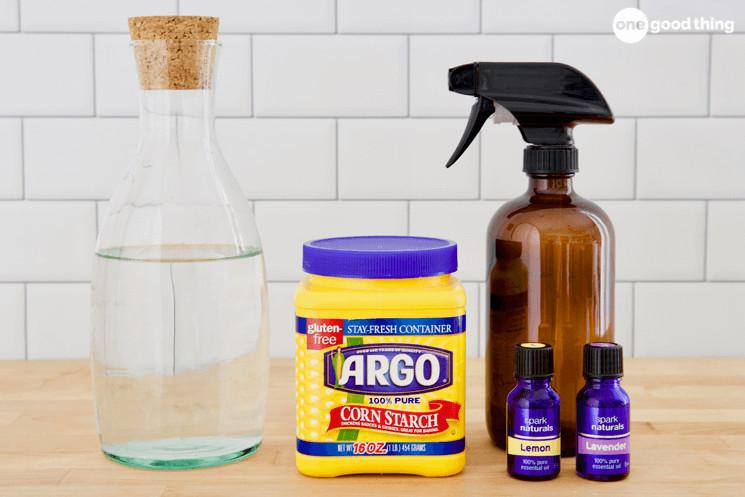 Homemade Spray Starch