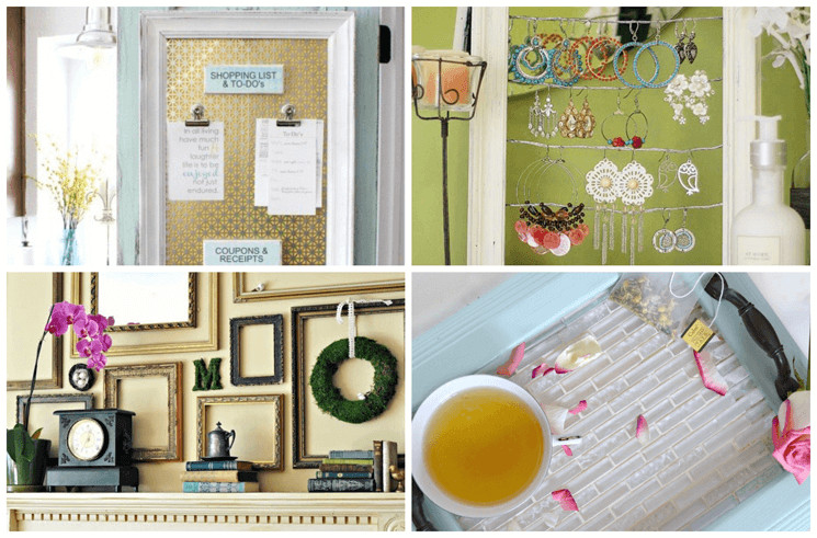 13 Useful Things You Can Do With Old Picture Frames
