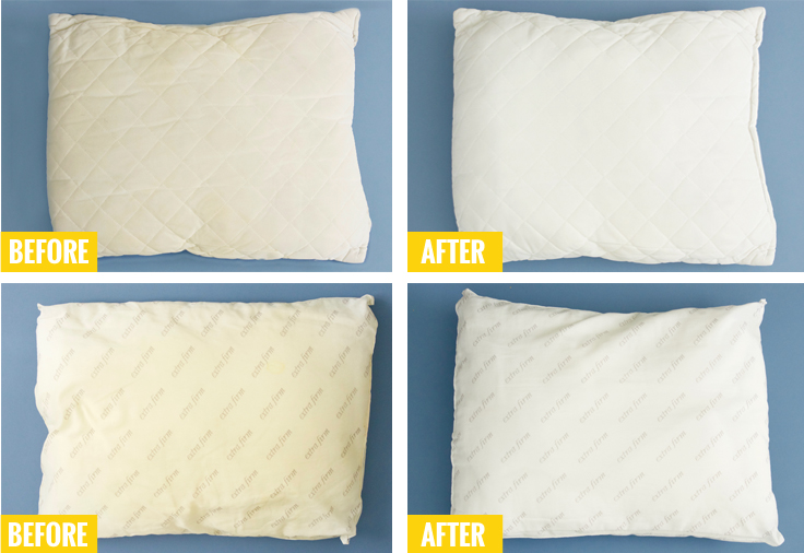 How To Wash And Whiten Your Old, Yellowed Pillows
