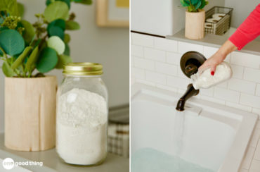 homemade milk bath