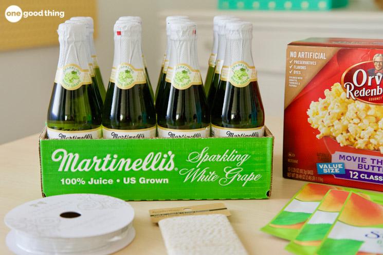 mini bottles of sparkling cider