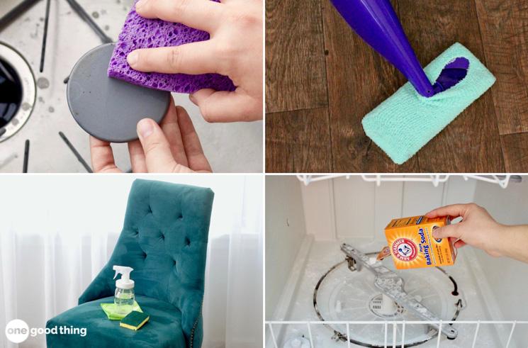 pinterest cleaning hacks