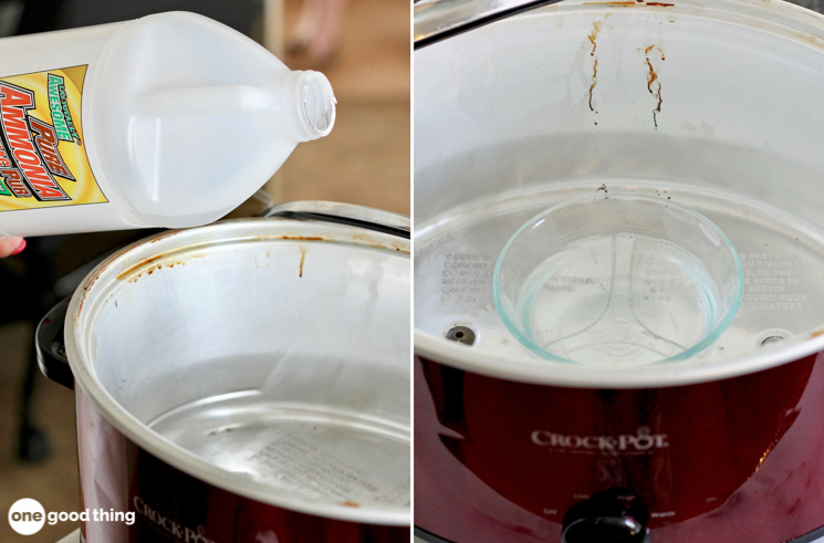 Clean The Inside Of Your Slow Cooker