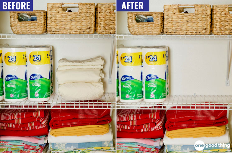 Sheet Storage Hack