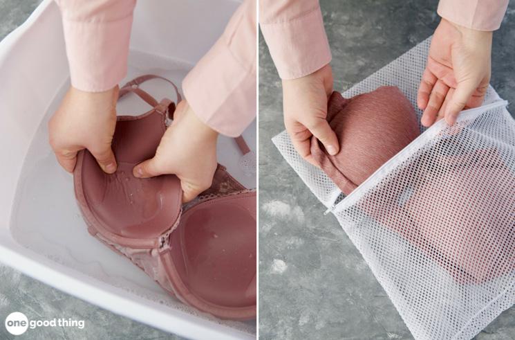 Washing Bras